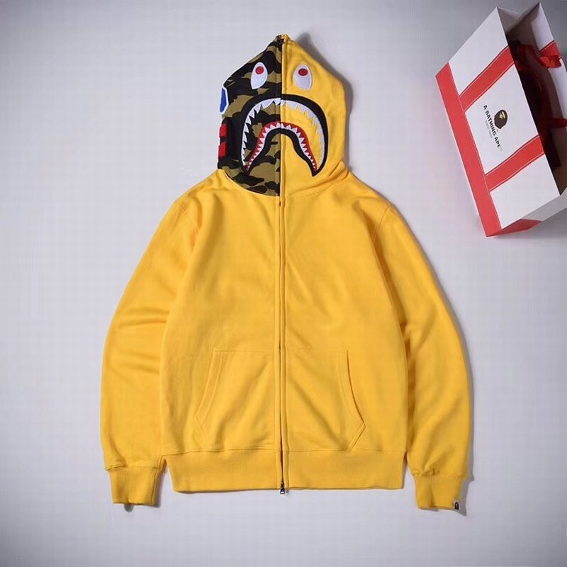 Bape Hoodie 2 Colors Black Yellow S-2XL XX213