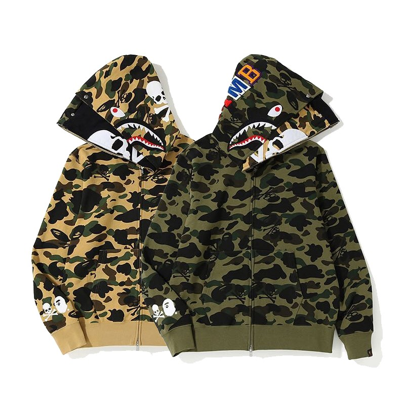 Bape Hoodie 2 Colors Yellow Green M-3XL B51XC820