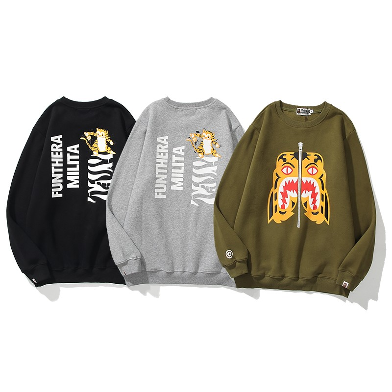 Bape Hoodie 3 Colors Black Grey Brown M-2XL B70XC342