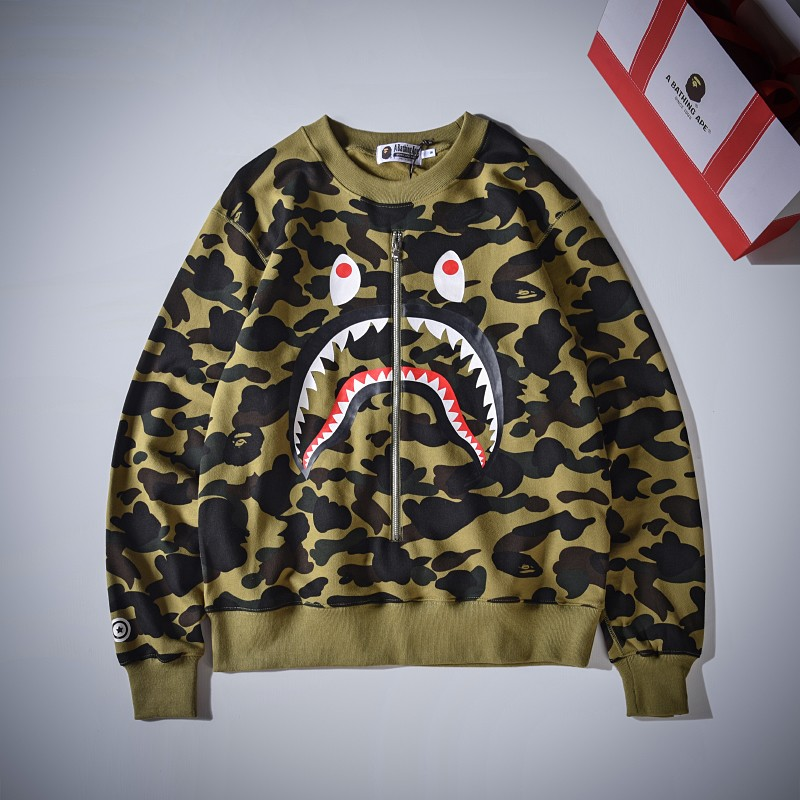 Bape Hoodie 5 Colors Blue Yellow Red Purple Green S-2XL XX218