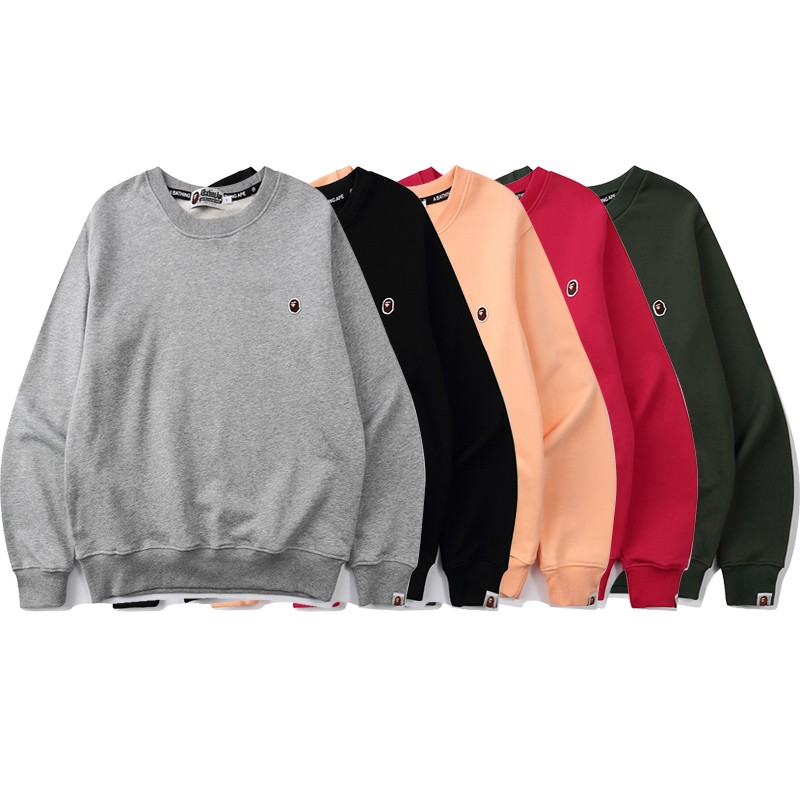 Bape Hoodie 5 Colors Grey Black Pink Red Green M-3XL B51XC850