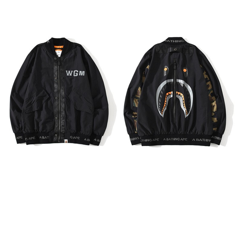 Bape Jacket Black M-3XL B15XC7302