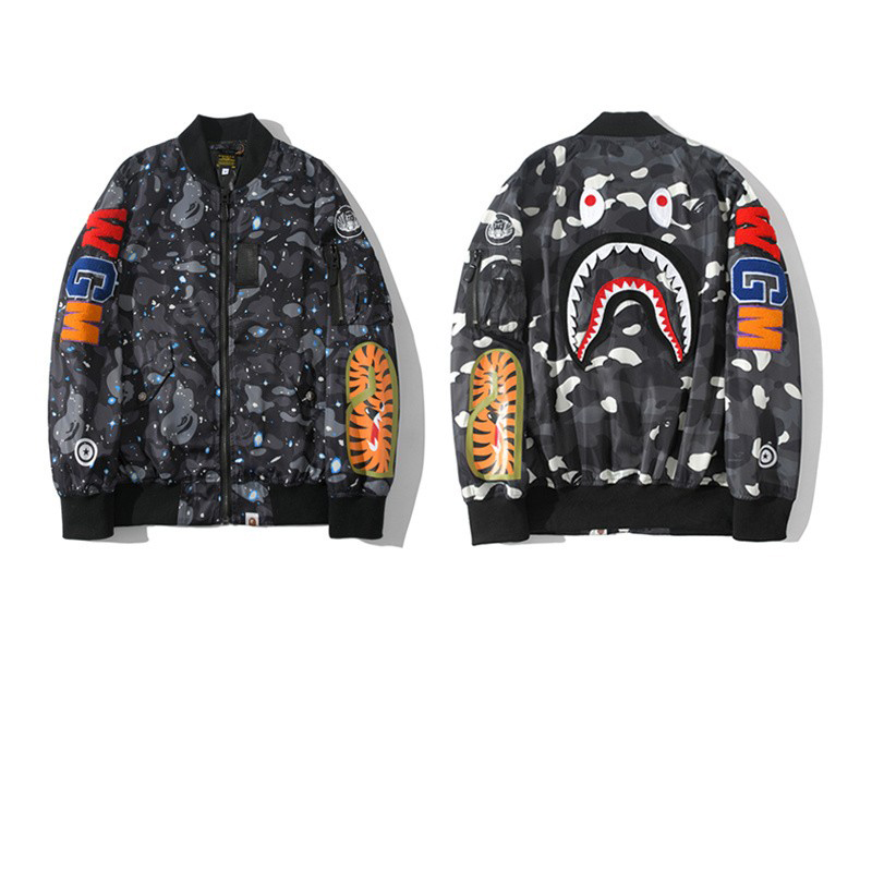 Bape Jacket Star Point M-2XL B15XC7295