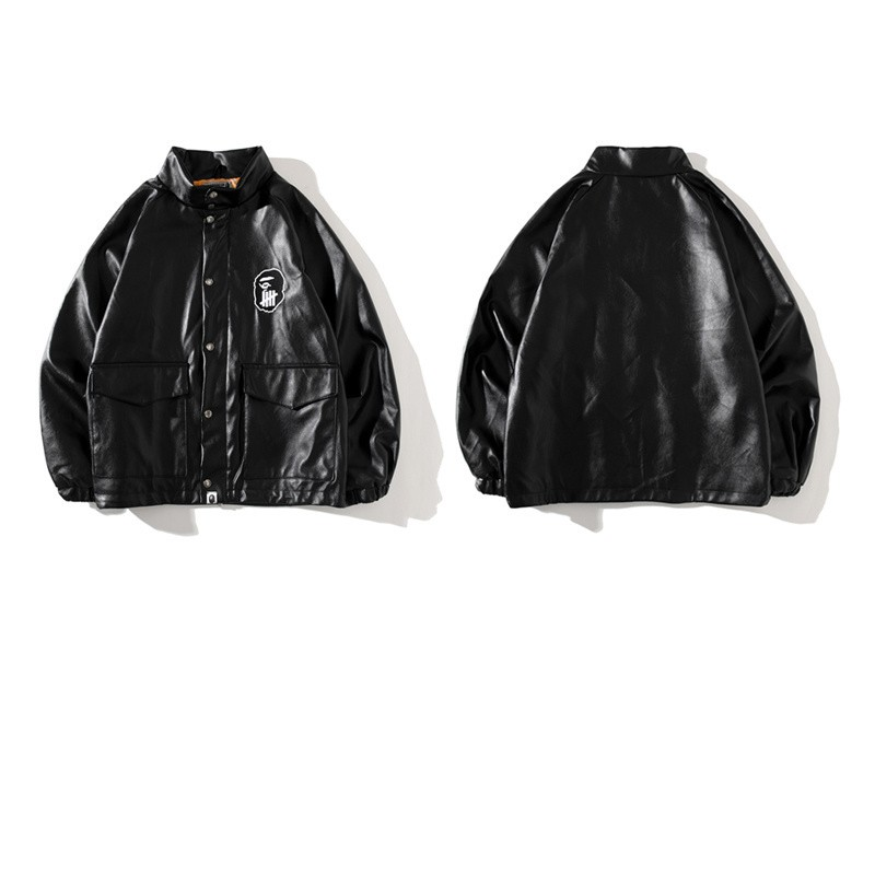 Undefeated x Bape Union Jacket Black M~2XL B15XC7299